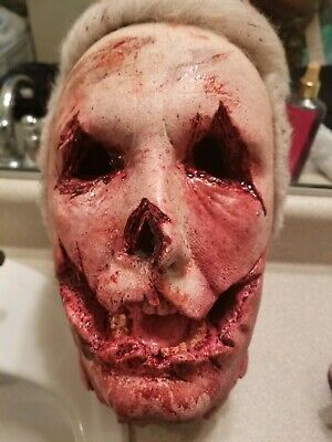 TOTS Halloween 2018 Officer Francis Severed Head Prop Rehaul Service - Halloween Severed Head
