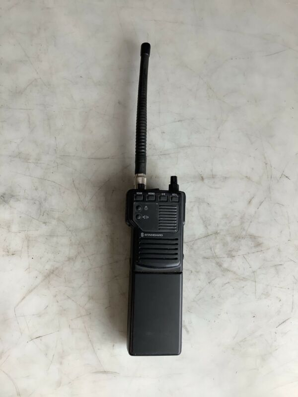 STANDARD HX241V VHF FM HANDHELD RADIO W/ CNB244AB BATTERY