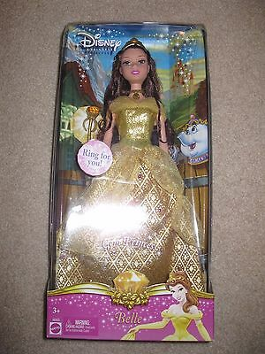 Disney Gem Princess Doll Belle Beauty and the Beast Mattel New