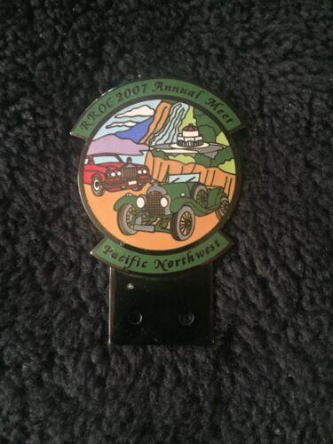 Rolls-Royce Owners Club RROC Pacific NW Annual Meet 2007 Enamel Badge Bar 33/75