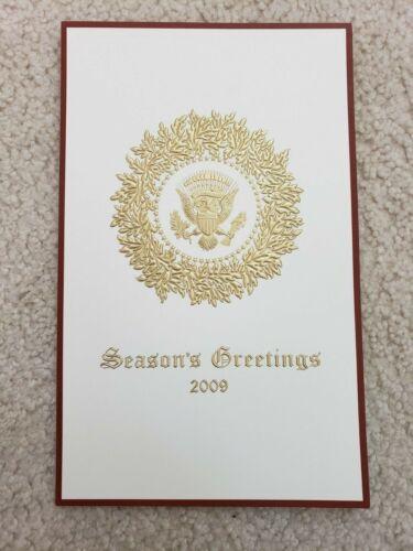 **VERY RARE** 2009 Official White House Christmas Card - President Barack Obama