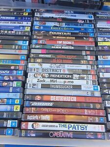 170 DVDs movies  $2 each or $150 for the lot Panania Bankstown Area Preview