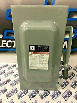 Square D D323n Series F 100 Amp 240 Volt Fusible Disconnect- New
