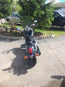 2001 1100 Honda Shadow Sable Motorcycle