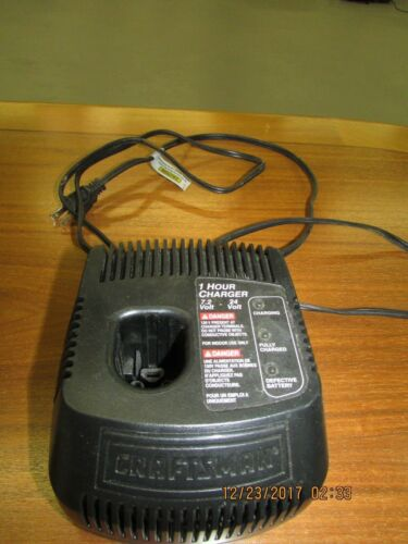 CRAFTSMAN CS1024 BATTERY CHARGER (LIGHTLY USED)