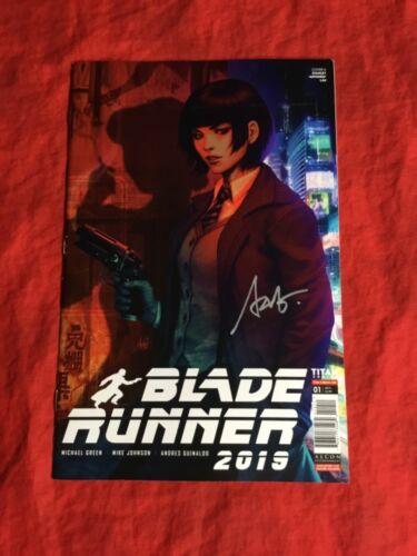 BLADE RUNNER 2019 #1~TITAN COMICS~SIGNED BY STANLEY ARTGERM LAU~NM~B
