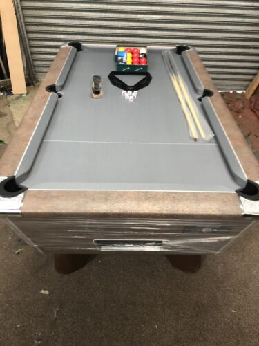 6FT BY 3FT NEW SUPREME WINNER  COPPER METALLIC FREEPLAY POOL TABLE CAN DELIVER