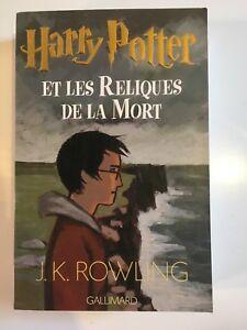 Roman JK Rowling Harry Potter et les reliques de la mort