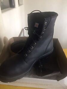 Canadian made size 12 ROYER steel toe work boots