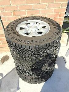 Toyota Hilux sr 16 inch wheels and tyres Regents Park Auburn Area Preview