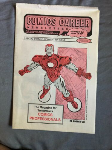COMICS CAREER NEWSLETTER #20 May 1990 tabloid - summer convention issue