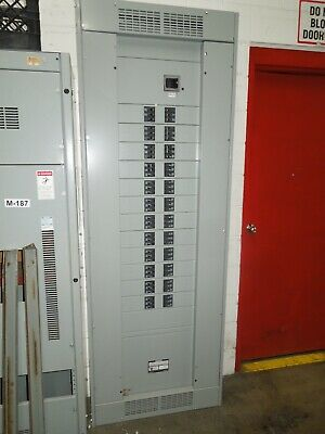 Siemens P4c90jd400ats 400a 3ph 208y120v Main Breaker Panel W Bl Breakers Used