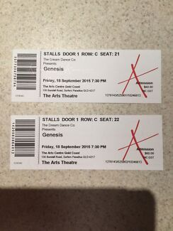 Genesis tickets x 2 Varsity Lakes Gold Coast South Preview