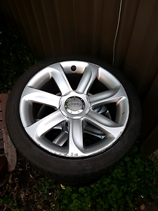 Audi 18 inch wheels and tyres Wanniassa Tuggeranong Preview