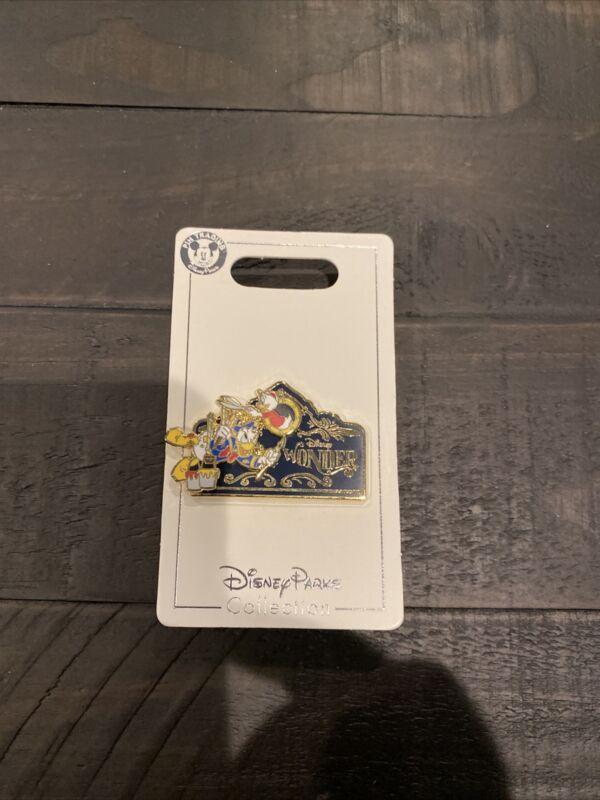 Disney Cruise Line Pin - DCL - Disney Wonder - Donald and Huey