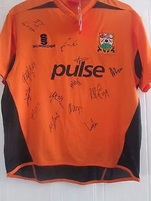 Barnet Home 2011-2012 Football Shirt Squad Signed COA /40886 image