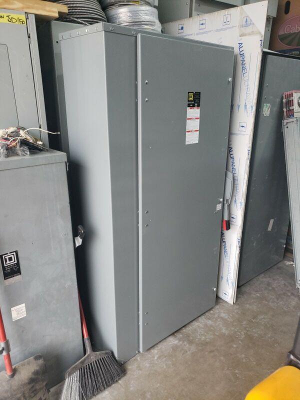 HU368 Square D 1200 Amp 600V 3 Pole Non Fusible Disconnect Switch Nema 1