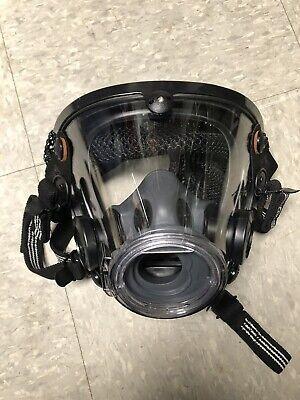 New Large Scott Av2000 Scba Full Respirator Mask Facepiece