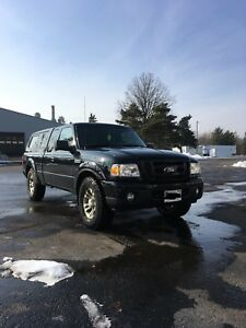 2010 Ford Ranger 4x4 with Leer cap