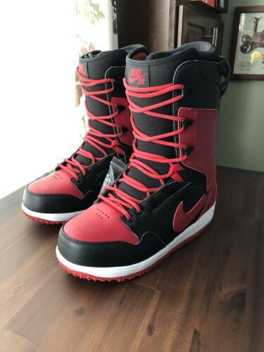 NIKE SB VAPEN SNOWBOARDING BOOTS Sz 10 Red Black. New And Ra