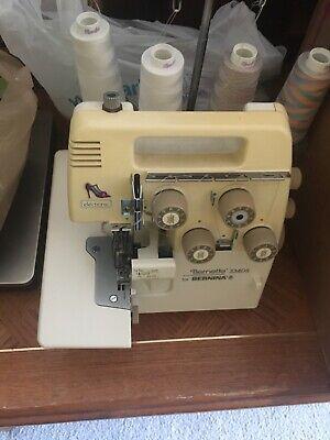 Bernette 334 Serger Bundle Foot Pedal, carrying case, keys, and more Keys Foot Pedal