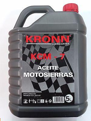 ACEITE CADENA MOTOSIERRA 5L KRONN