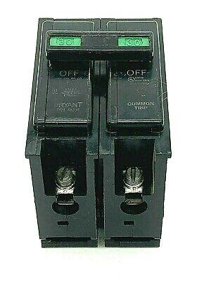 Bryant Br230 2 Pole 30 Amp 120240v Plug In Type Br Westinghouse Circuit Breaker
