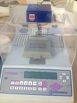 Stratagene Gradient 40 Robo Temperature Cycler Pcr