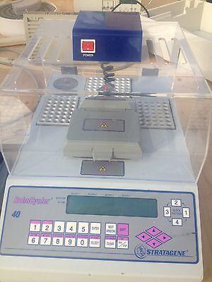 Stratagene Gradient 40 Robo Temperature Cycler Pcr
