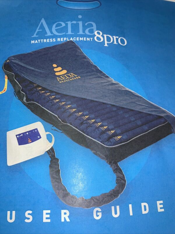 Aeria 8 Pro Mattress Replacement System inludes mattress & pump