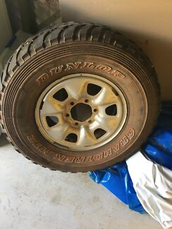 Hilux rim and tyre