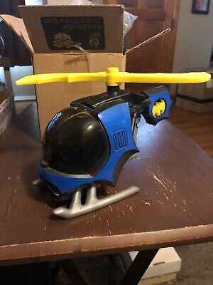 Imaginext BatCopter BATMAN helicopter 2008 DC Super Friends Works