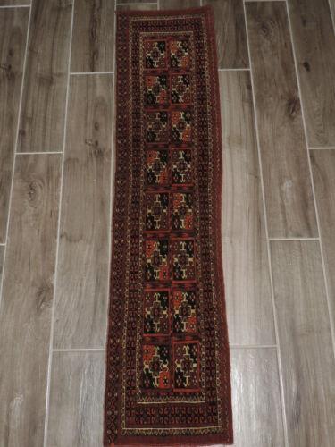 "13"" x 56"" Handmade Turkoman Torba Wool Chuval Bagface"