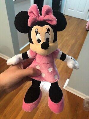 Plush Minnie Mouse (minnie mouse plush doll)
