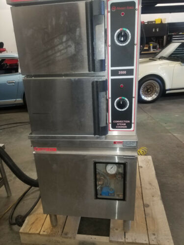 Market Forge Commercial Gas Convection Steam Cooker Series 3500 – Model M24G200A