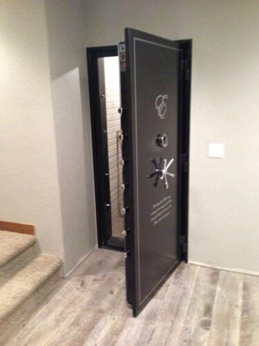 Vault Door 80 x 30 x 6 Out swing Panic room, Security Vault, Gun Room Door