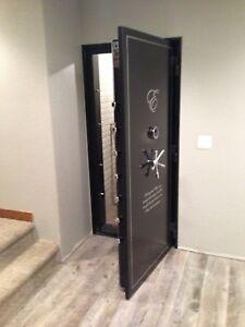 Vault Door 80 x 30 x 6 Outswing Panic room Security Vault Gun Room & Vault Door: Safes | eBay