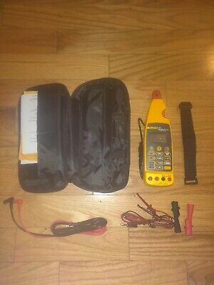 Fluke 773 Milliamp Process Clamp Meter Case Leads Full Kit Brand New Open Box