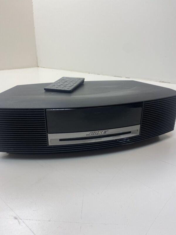 Bose Wave Music System IV AM/FM Radio/CD Player - Black - Nice