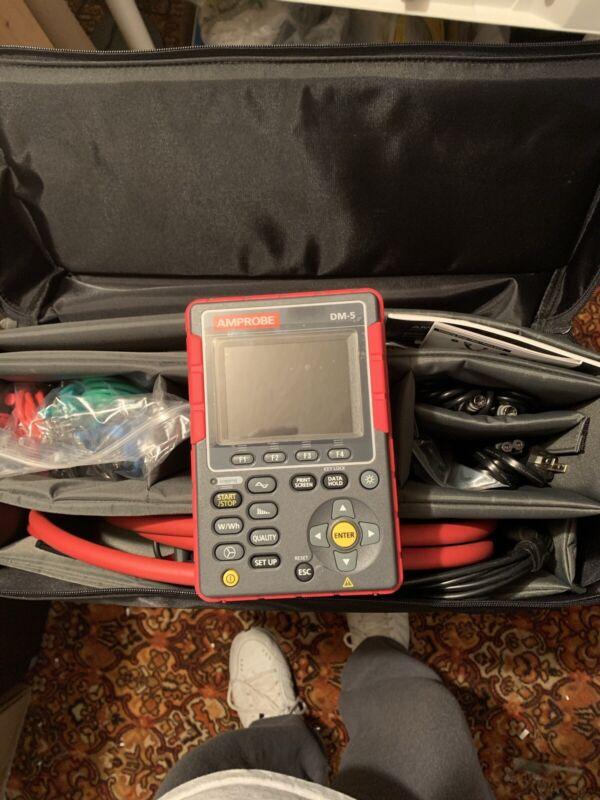 Amprobe DM-5 Power Quality Analyzer and Logger