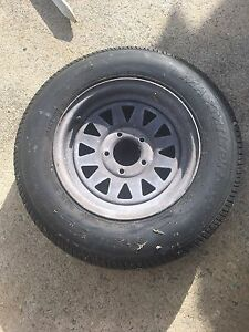 Boat trailer spare tyre ford pattern  165R13 Coffs Harbour Coffs Harbour City Preview