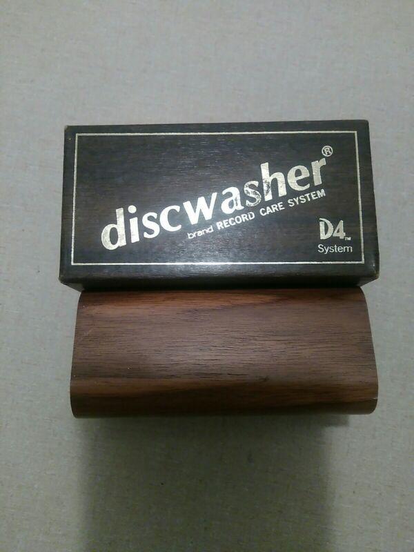 VINTAGE 1983 DISCWASHER VINYL LP CARE RECORD CLEANER ORIGINAL BOX