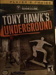 Tony hawks underground for GameCube