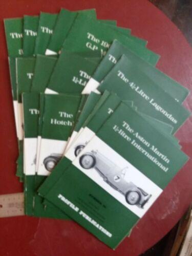 Profile Publications  Issues Vintage Auto Mags car automobile book