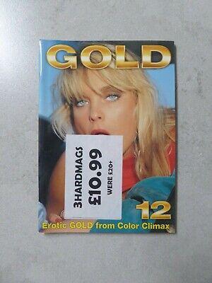 vintage glamour magazine gold No.12 ccc