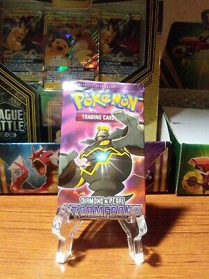 SEALED Pokemon Diamond and Pearl Stormfront *unweighed Booster Pack From 2008 *