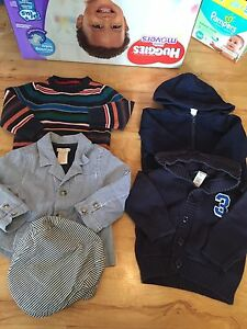 Lot of 18-24M Boys Sweaters (5 Items in Total)