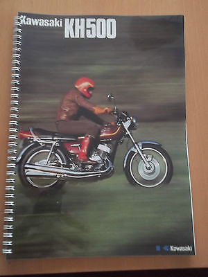Kawasaki KH500 H1 Triple  Parts Manual