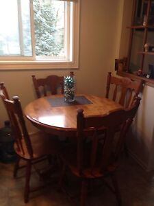 Hard Wood table with 4 chairs SET