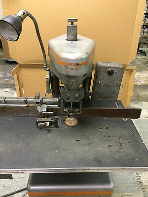 Single Head Challege Paper Drill In Good Working Condition